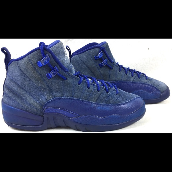 969b5aeb3171 Jordan Other - Nike Air Jordan 12 Retro Deep Royal Blue BG Shoes